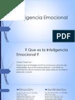 INTELIGENCIA EMOCIONAL Presentacion