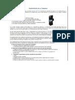 Manual de Instrucciones y de Mantenimiento Para Compresor