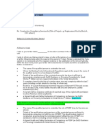 Appendix F Template Letter of Intent