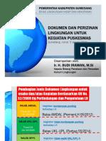 Paparan UKL-UPL Puskesmas - 5 Januari 2018
