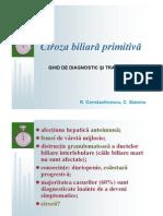 Ciroza Biliara Primitiva-ghid