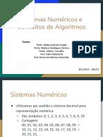 Aula2-Sistemas Numéricos e Algoritmos