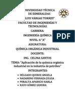 Grupo 3 -Industria Del Petroleo