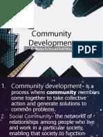 ESP Community Development words