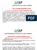 Responsabilidad Social en La Ind. Minera 2016