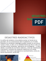 DESASTRES RADIOACTIVOS