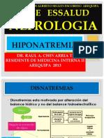 Hiponatremia e Hiper