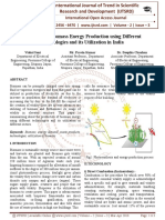 A Review on Biomass Energy Production using Different Technologies and its Utilization in India