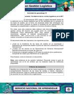 Evidencia 8 Documento Incidencia de Los Costos Logisticos en La DFI
