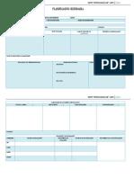 Formato de Planificación Sec.