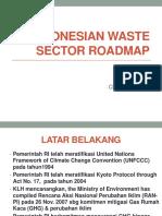 Indonesian Waste Sector Roadmap