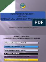 Paparan PP 79 Tahun 2013 Ttg Jaringan LLAJ