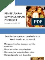 Pembelajaran kewirausahaan produktif.pptx