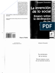 Donzelot - La invención de lo social.pdf