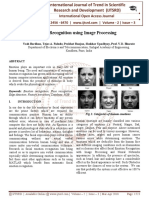 Emotion Recognition using Image Processing