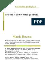Clase3 Macizo Rocoso Meteoriz. Prof. Sof a Rebolledo
