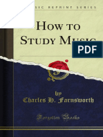 How to Study Music 1000015128
