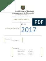 secondry data