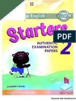 Starters 2 (Ver 2018)