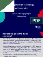 3. Emerging Digital Technologies