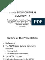 ASEAN Socio-Cultural Community, Philippines (1)