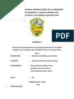 Los 7 Principios de SGC Norma ISO 9000 2015