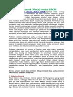 Obat Antihemoroid (Wasir) Herbal BPOM