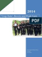 Crap Hats', Berets and Peak Caps