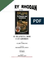 P-503- O Planeta Dos Cavadores - Clark Darlton
