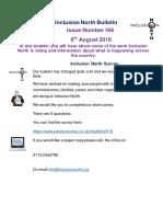 Bulletin 166 - 6th August 2018 Final