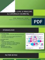 Diagnosticul Clinic Și Paraclinic in Cancerul Colorectal