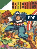 Cromos Superheroes Fher