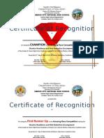 Certificate Drr Encampment