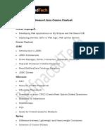 Advanced Java Course Content | Advanced Java Course online training