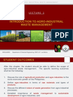 1 Introduction to Agro-Industrial Waste Management