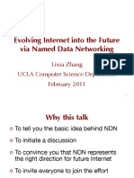Evolving Internet Into the Future - Named Data Networking