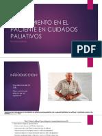 Estreñimiento en El Paciente en Cuidados Paliativos