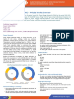Global Market for Phase Change Materials PCM - 2017 to 2023