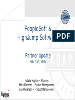 Highjump Overview