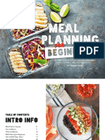 Meal plan for beginers