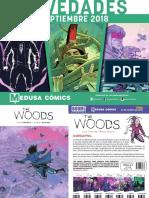 NOVEDADES Medusa Cómics para Septiembre 2018
