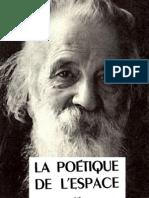 Bachelard Gaston - La poétique de l'espace