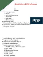 Project Startup Checklist