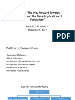 1.2 MIRAL Fiscal Federalism