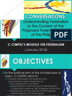 Federalism Module