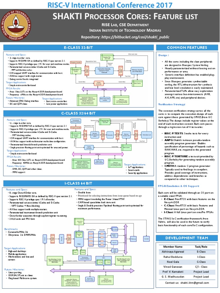 Ric Poster1 | Cpu Cache | Field Programmable Gate Array