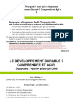 Diaporama - Le Developpement Durable Comprendre Et Agir