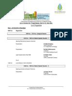Draft Programme - Green Building Congress 2011