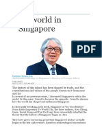 The World in Singapore
