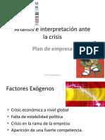 Soluciones para  Empresas en Crisis